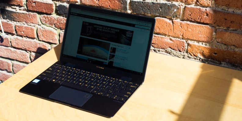 Asus ZenBook 3 On Table