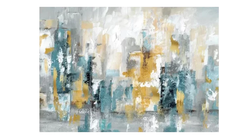 'City Views II' Painting Print