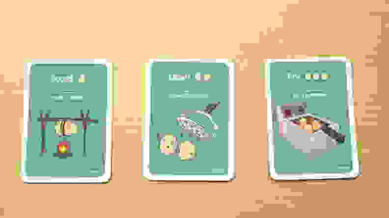Attack cards in Potato Pirates