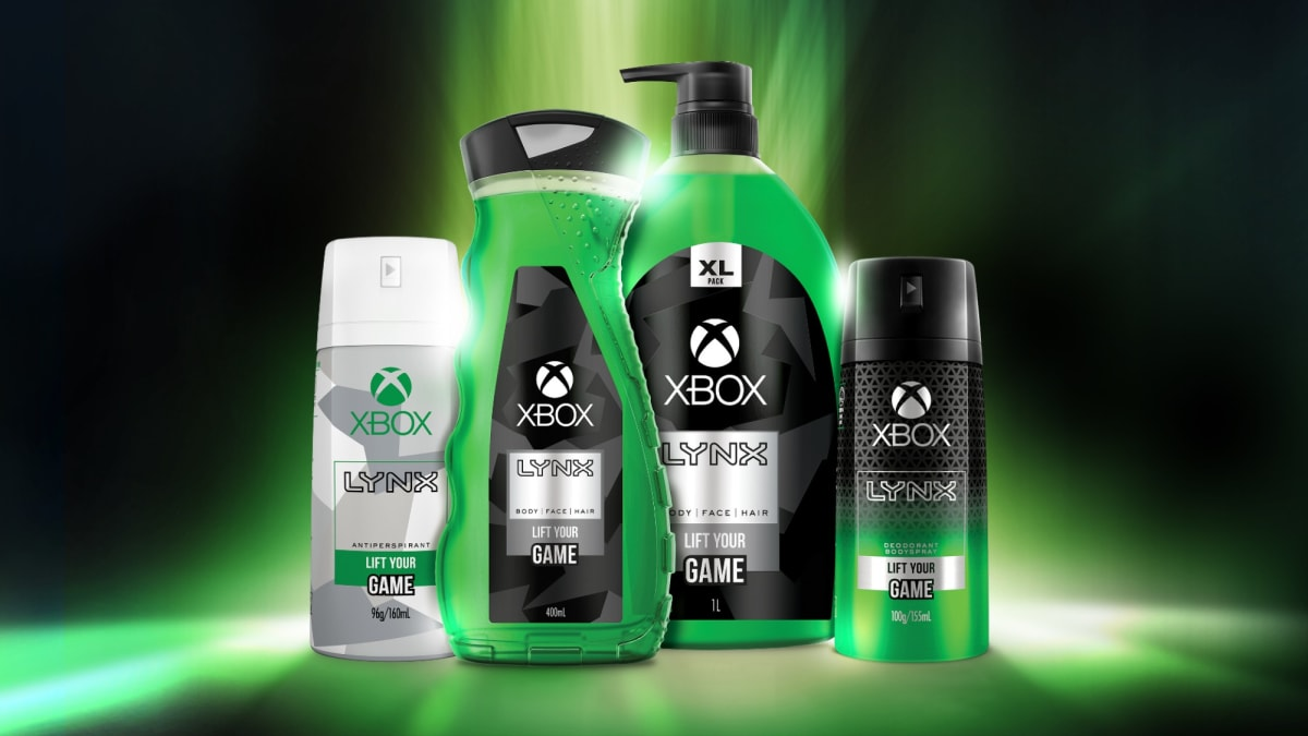 You can now smell like an Xbox thanks to this weird new body wash