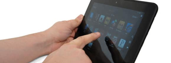Amazon kindle fire hd tri