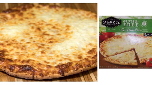 The Best Frozen Pizza You Can Buy Is Sabatassos Gluten Free From