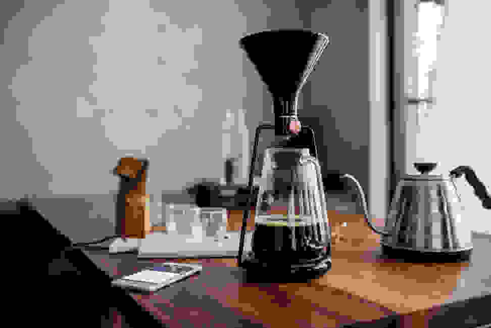 The GINA Smart Coffee Brewer