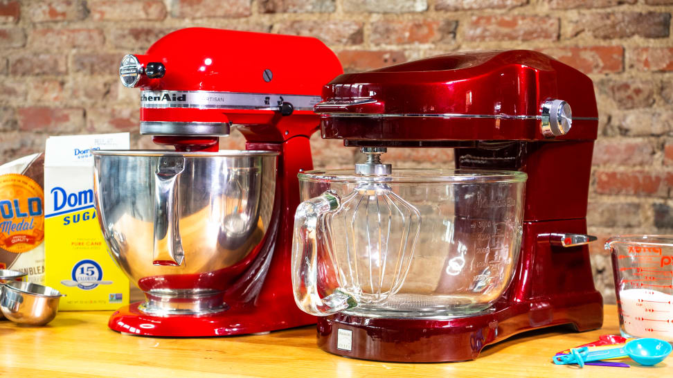 KitchenAid Artisan and Kenmore Ovation
