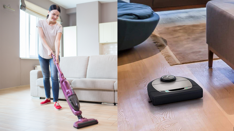 Dirt Devil and Neato vacuums