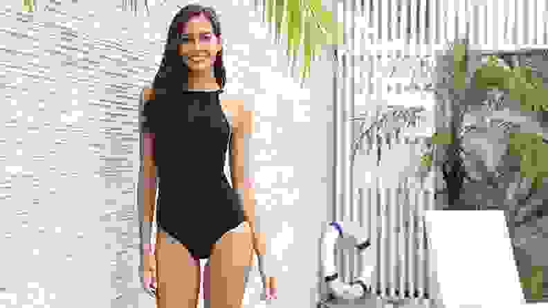 Women's One Piece Bathing Suit