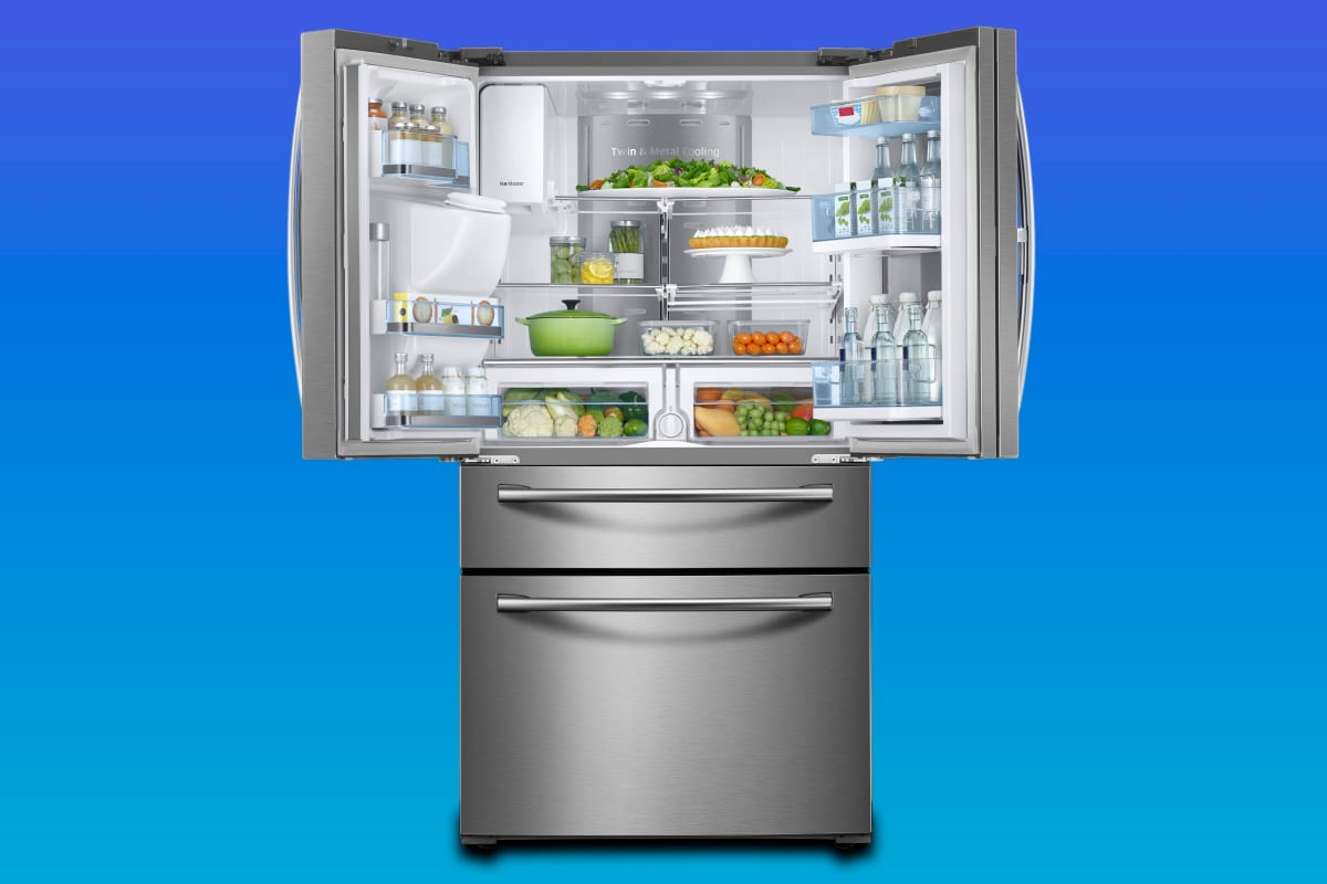 Samsung RF28JBEDBSG 4-door French door refrigerator review ...