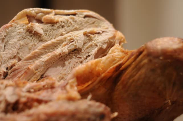 Carved Turkey