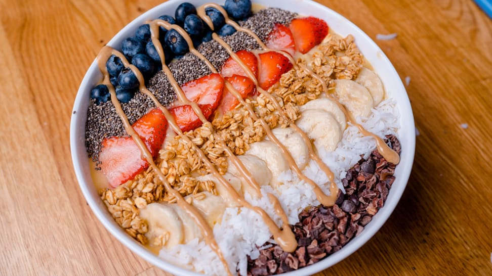 Smoothie bowls are a huge trend—here's how to make them at home