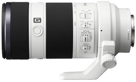 Product Image - Sony FE 70-200mm f/4 G OSS Full-frame E-mount Zoom Lens