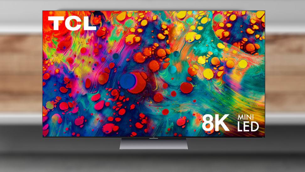 The TCL R648 8K mini-LED TV