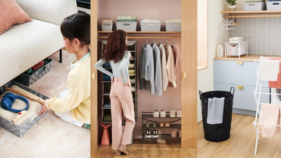 Can Bed Bath & Beyond's new organization products tame my closet?
