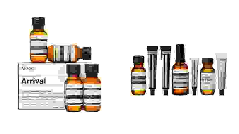 Two gift sets of Aesop toiletries
