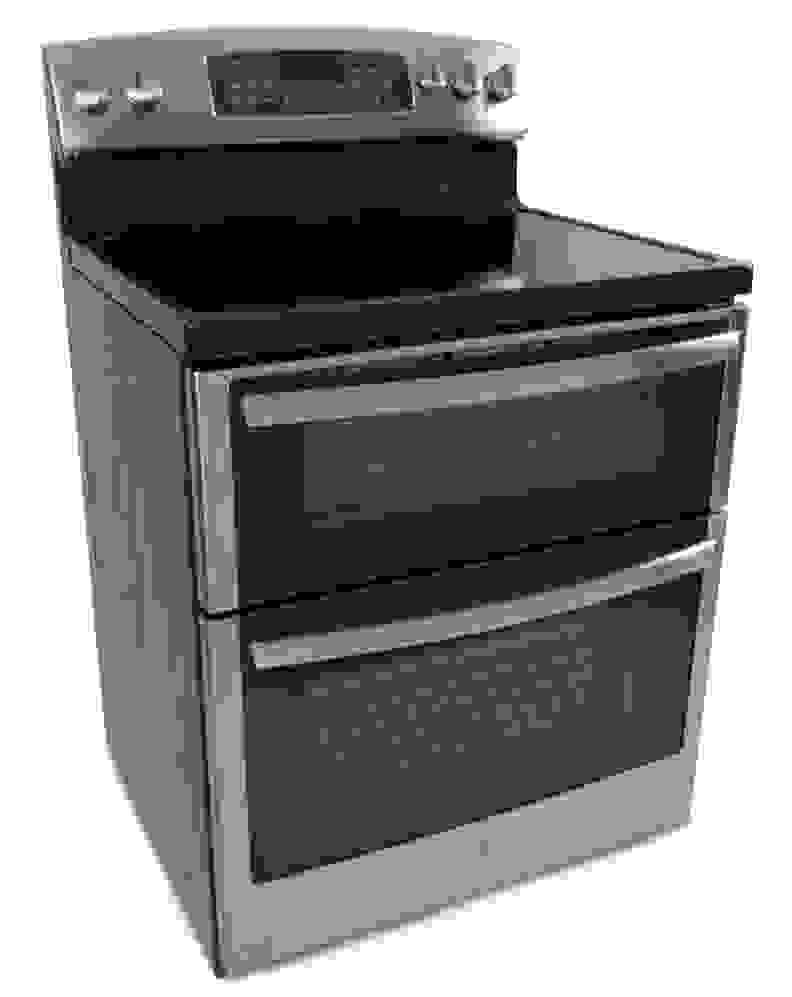 The GE JB850SFSS dual electric range