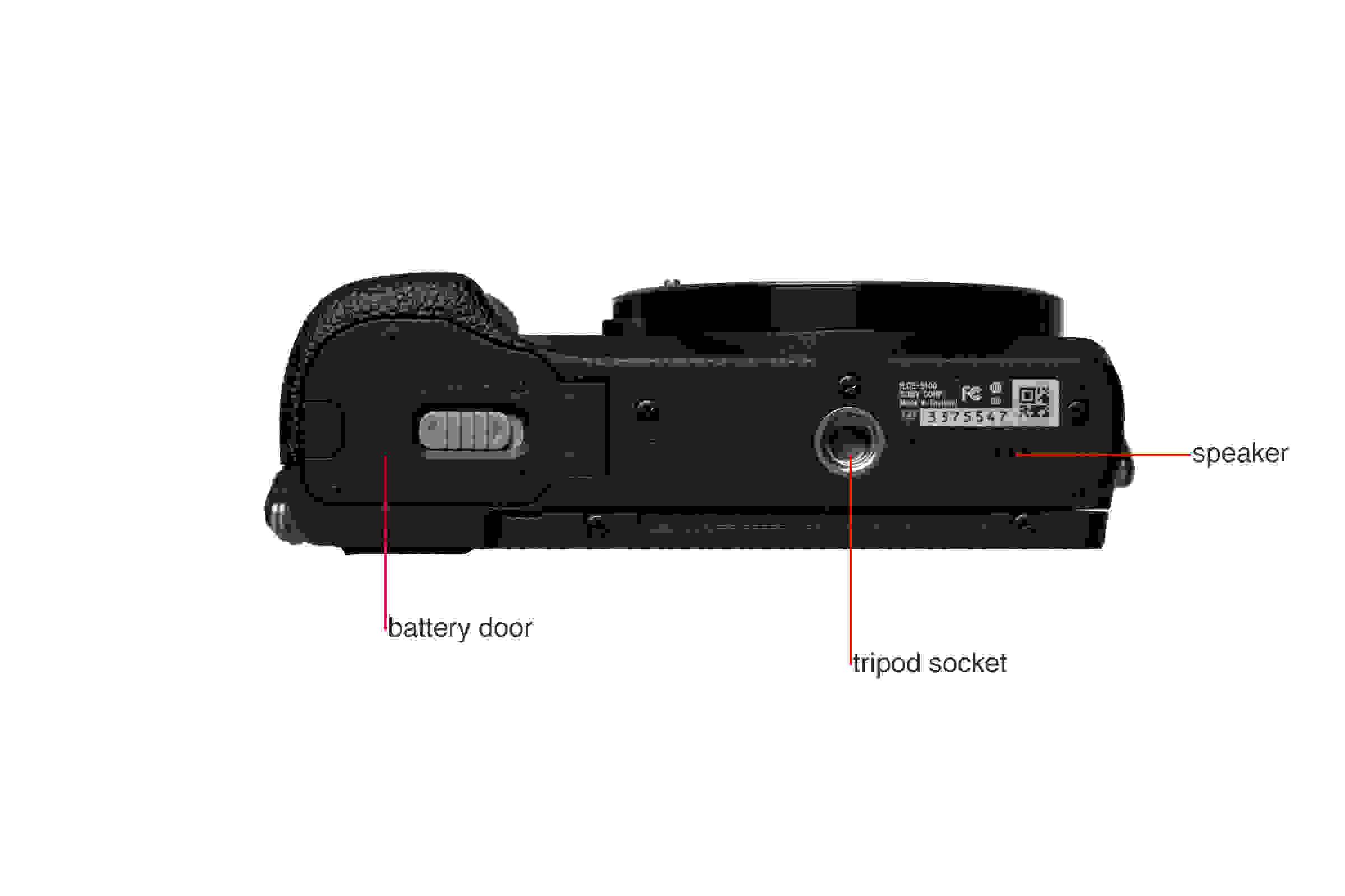 A5100 camera bottom