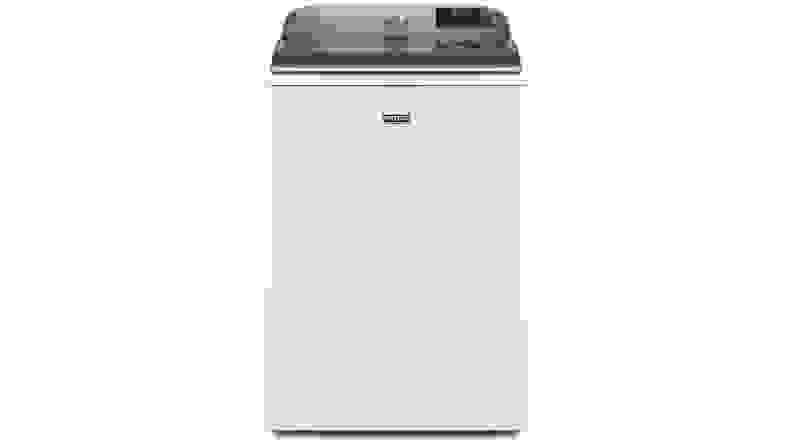The Maytag MVW7230HW top-load washing machine on a white background.