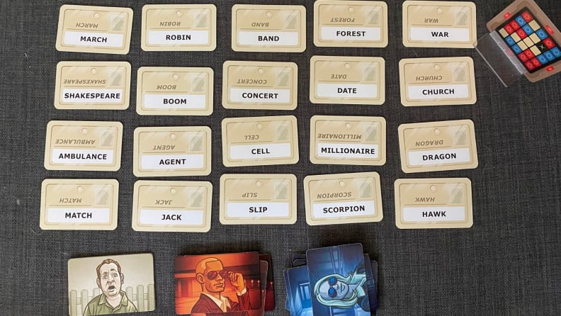 Codenames board