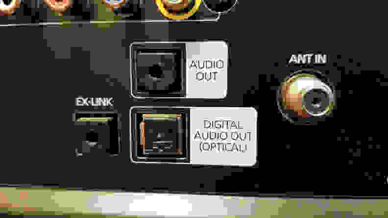 Optical-Audio-Input