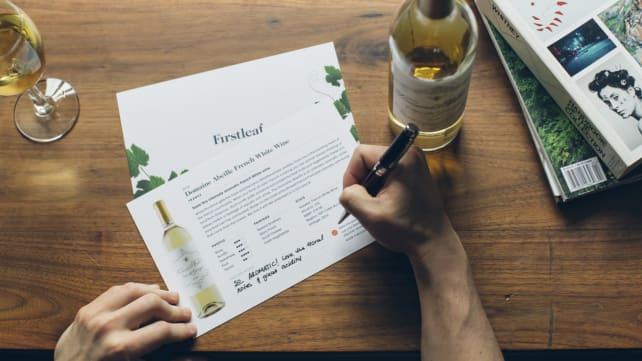 Firstleaf wine cards