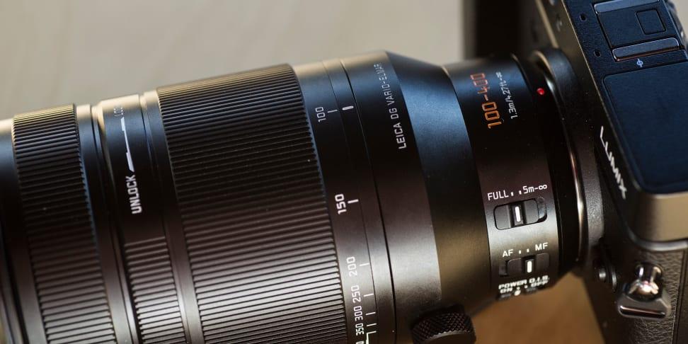 Panasonic's 100-400mm Leica telephoto zoom lens