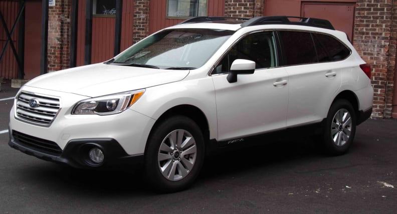 2015 Subaru Outback exterior
