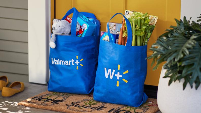 Walmart plus bags