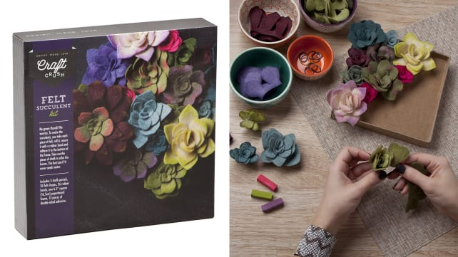 Craft Crush Felt Succulent Kit