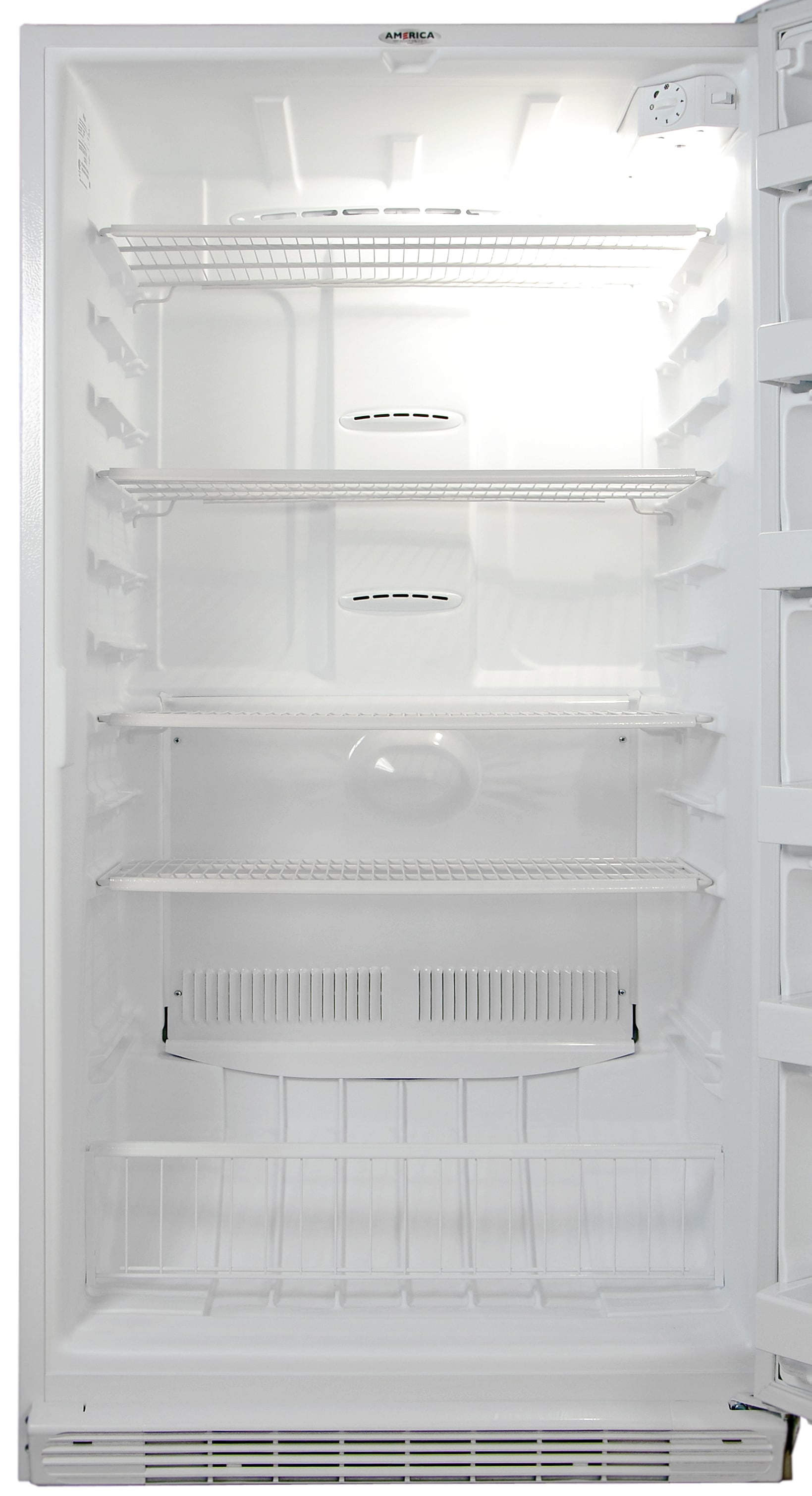 Lots of shelves, plus lots of height customization, make the Whirlpool EV200NZBQ a very flexible freezer.