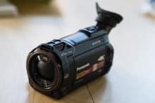 Panasonic WXF991 4K Twin Cam Camcorder