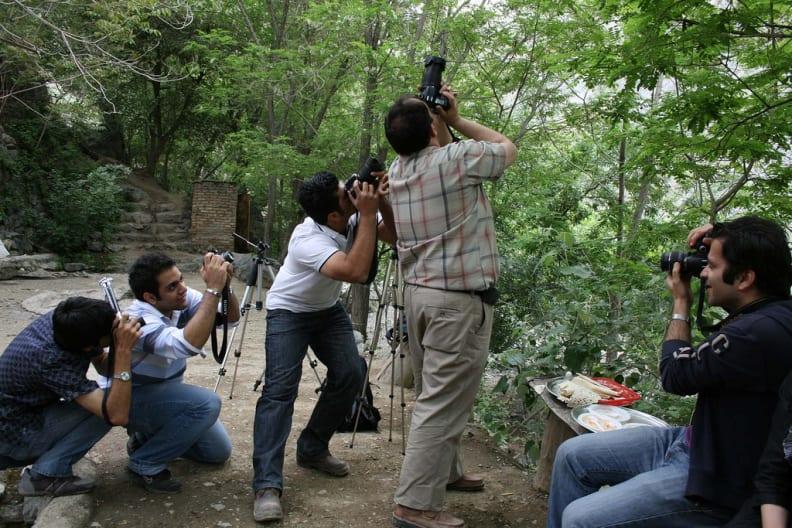 Photograph the photographer
