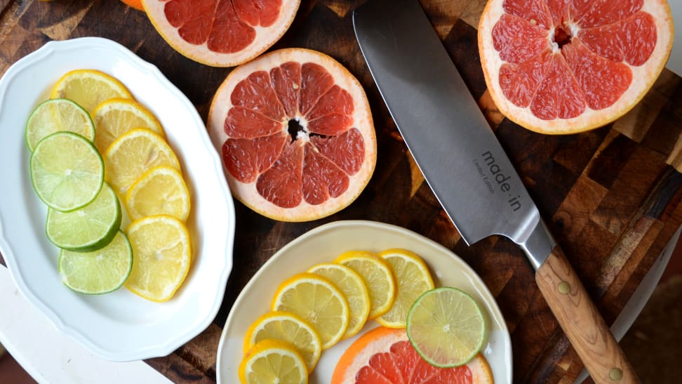 Made In makes a nakiri knife that slices fruits and vegetables with ease—is it worth it?