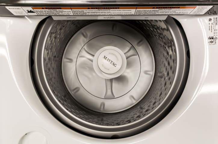 Maytag MVWB765FW High-efficiency Top Load Agitator Washing Machine