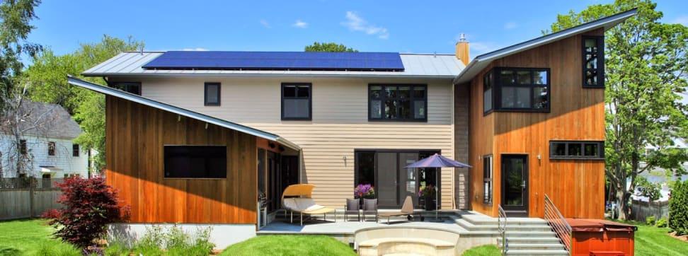 A home sporting SunPower solar panels.