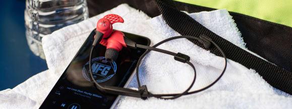 Headphones for gym