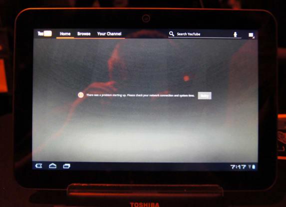 Product Image - Toshiba Excite X10 16 GB
