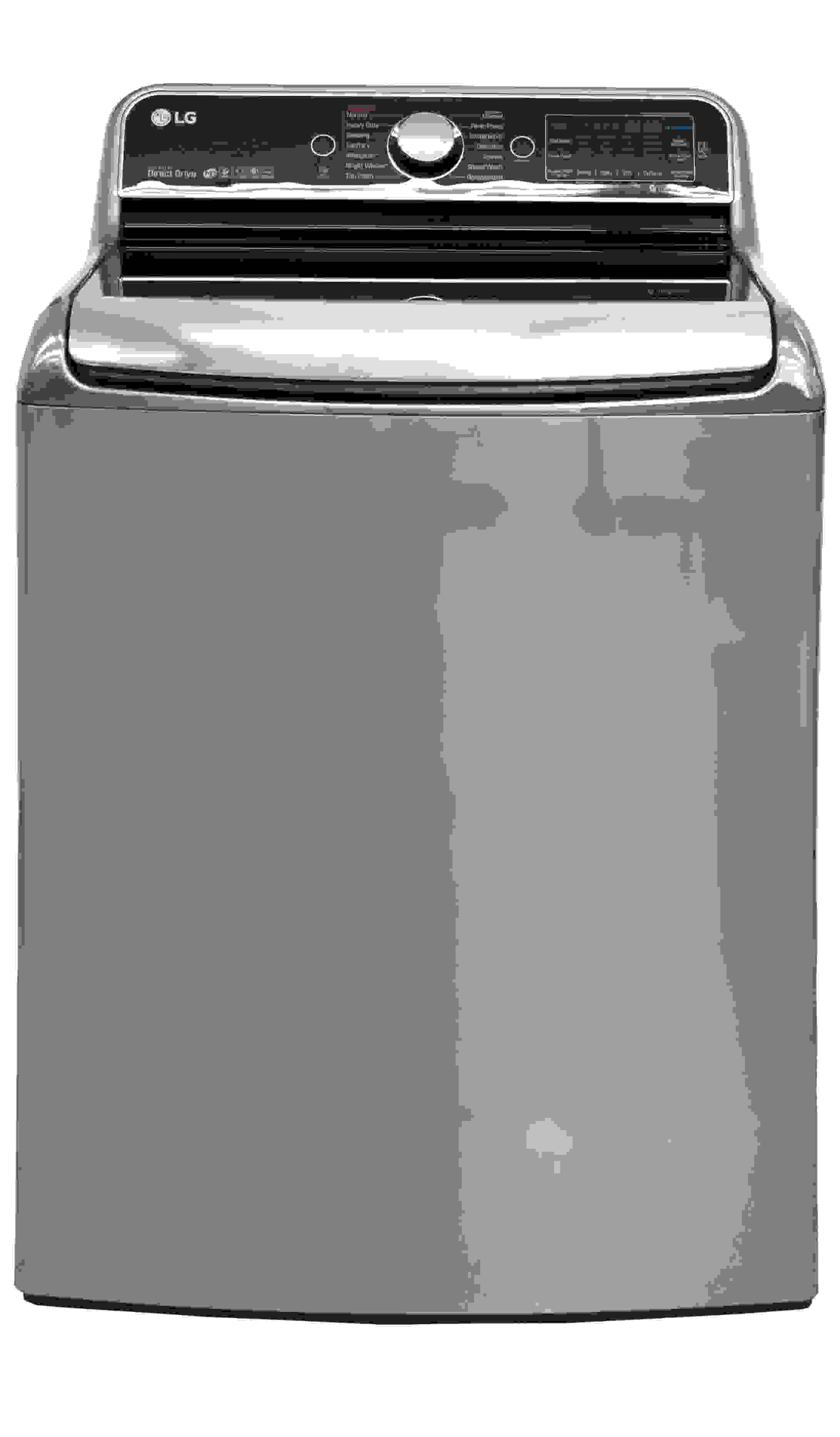The WT7700HVA keeps the standard LG top loader design.