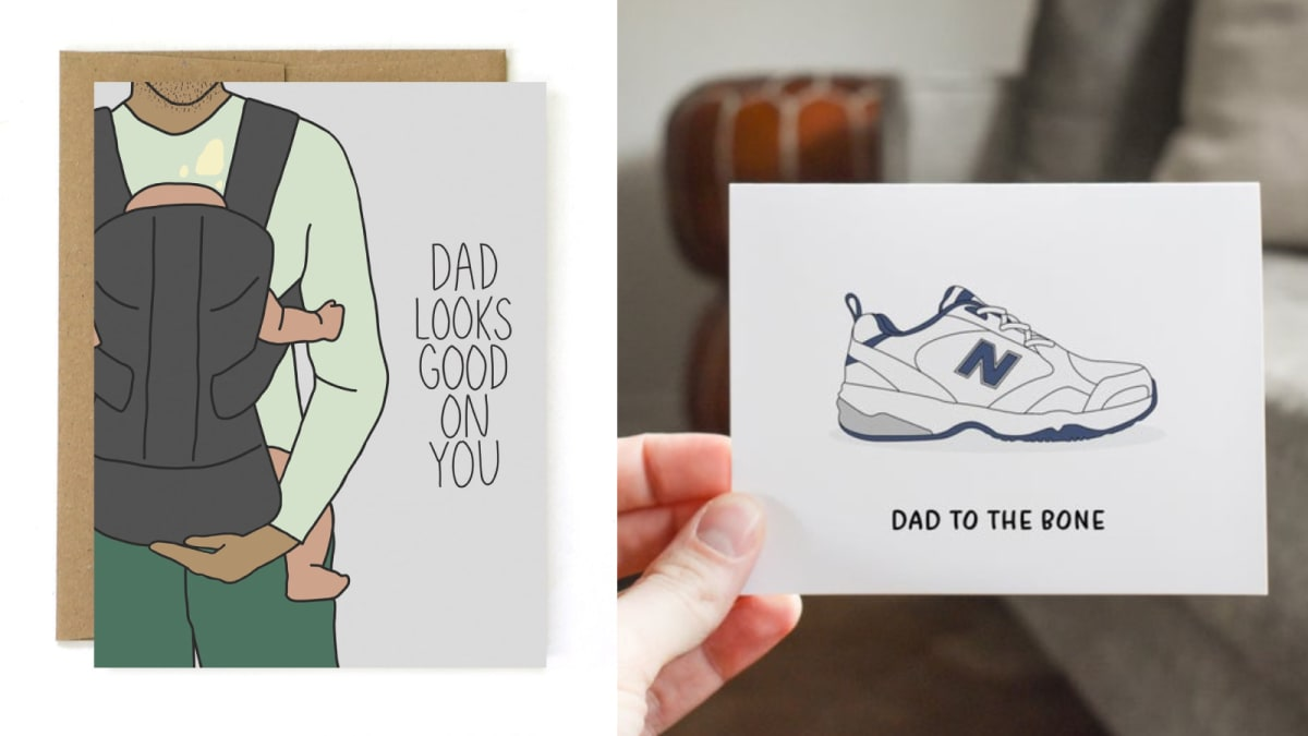 12 unique Father's Day cards to send your dad