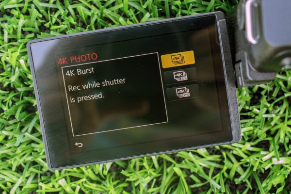 The menu system is very similar to Panasonic mirrorless cameras.