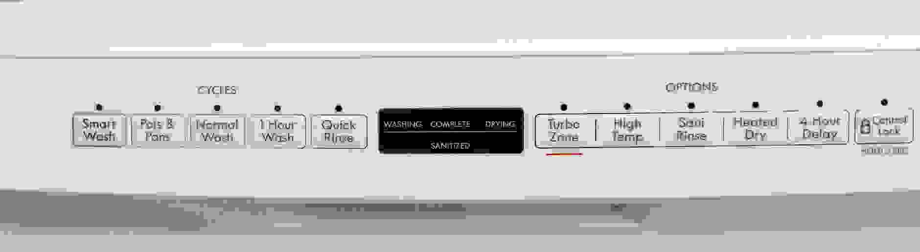 Kenmore 13042 controls