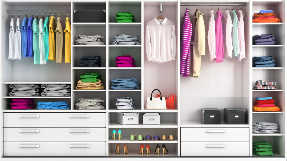 Start the new year with a new, more organized closet.