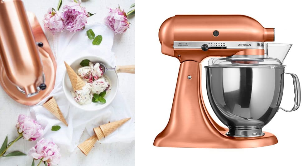 Copper accents for kitchens and homes