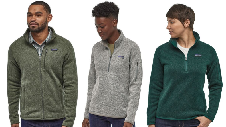 Patagonia fleece sweaters