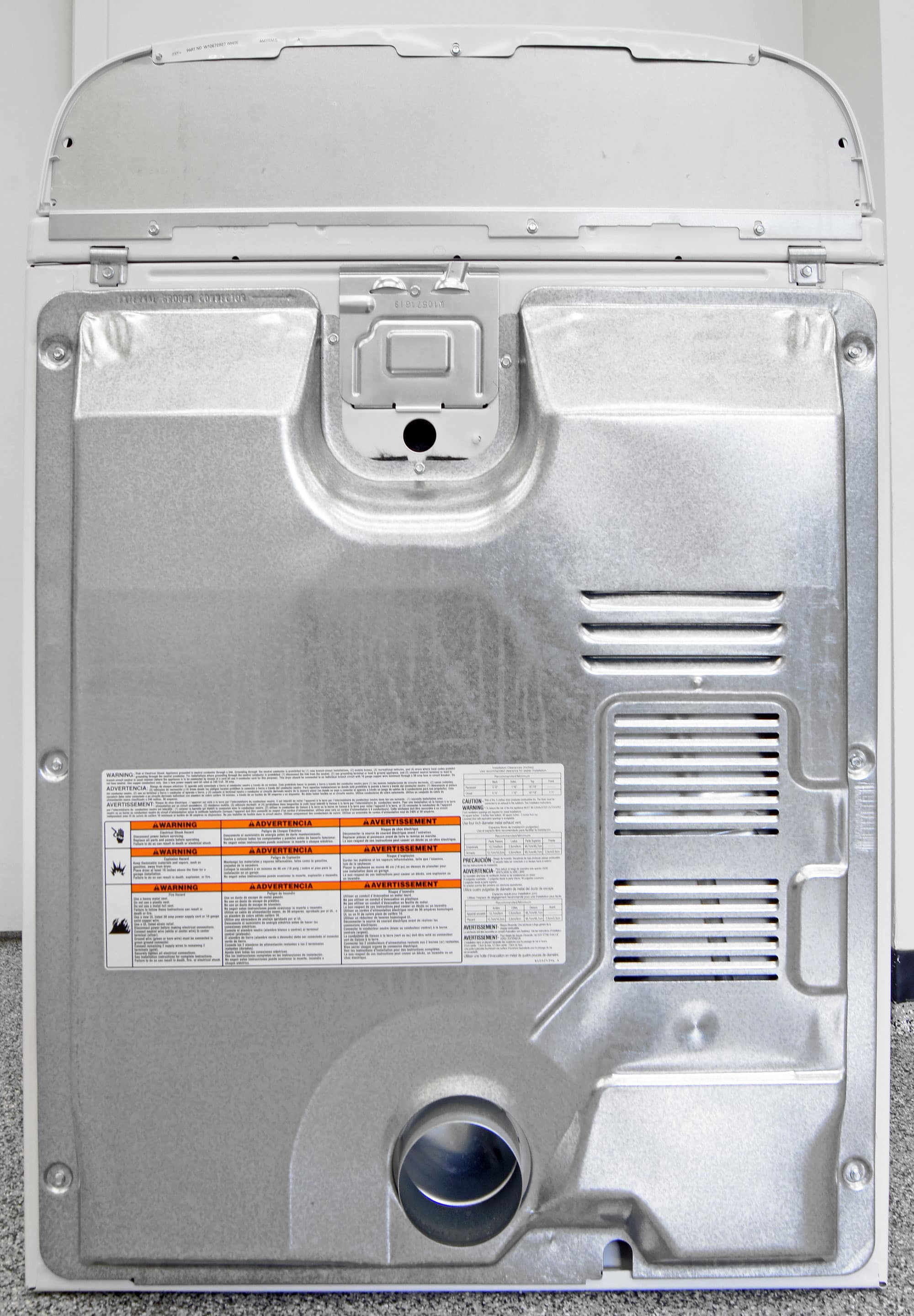 Whirlpool Wed4915ew Dryer Review Laundry Senseon Wiring Diagram No Steam Means Water Hookup Once The Plugged In You