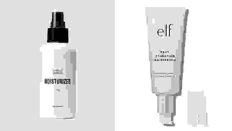 Public Goods Facial Moisturizer and E.L.F. Cosmetics Daily Hydration Moisturizer