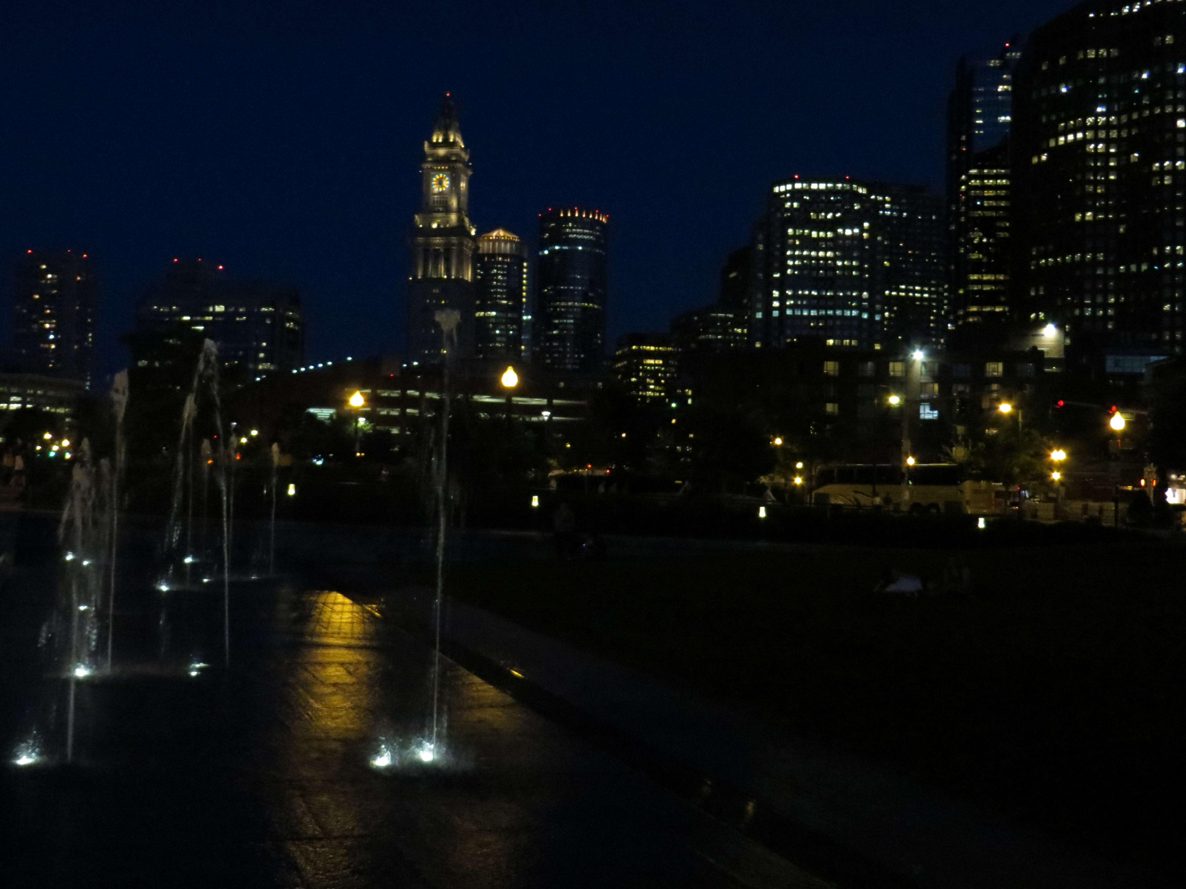 Low Light Cityscape Sample