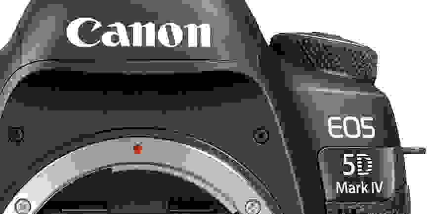 Canon 5D Mark IV Hero