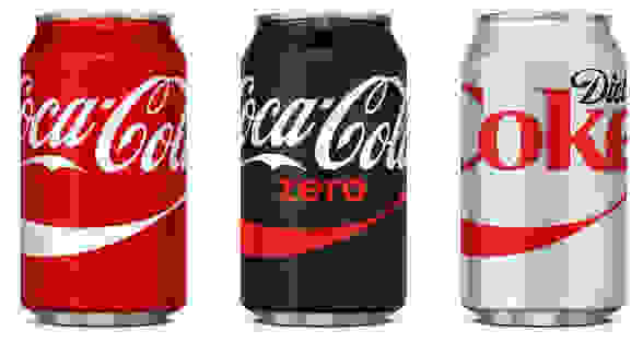 US Coke Cans