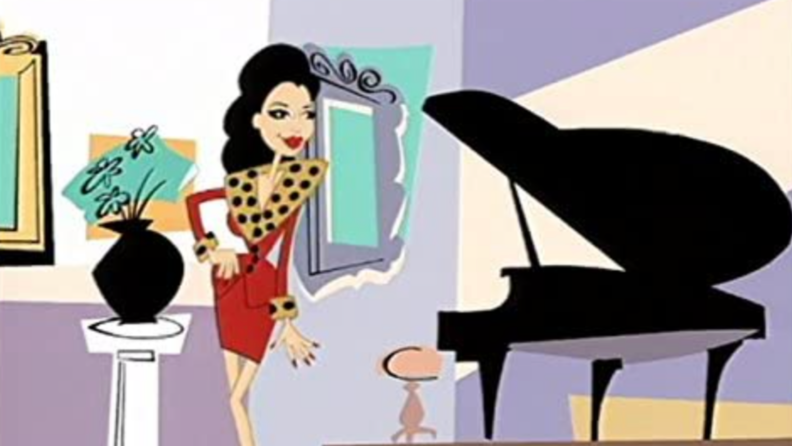 A still from the intro song to 'The Nanny.'