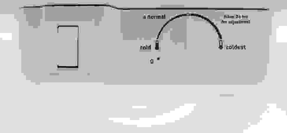 Frigidaire FFTR1814QW Controls