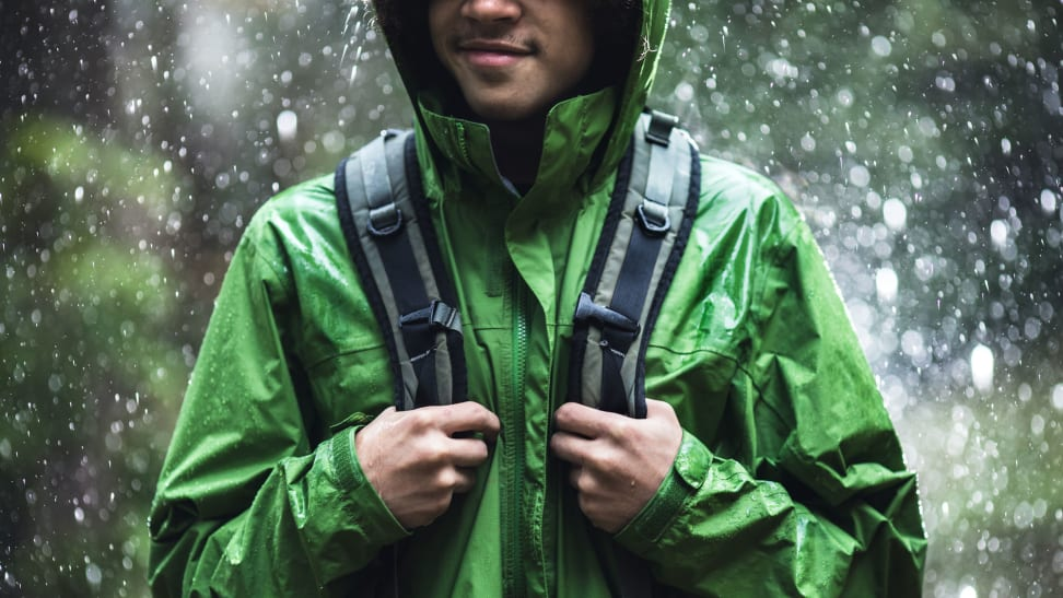 Keeping your DWR gear cleaned and maintained will keep you from getting soaked.